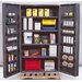 "48"" Wide Welded Storage Cabinet with Deep Doors"