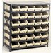"<strong>Economy Shelf Storage Units (39"" H x 36"" W x 12"" D) with Bins</strong> by Quantum Storage"