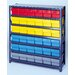 "Quantum Storage Open Shelving Storage System with Euro Drawers (75"" H x 36"" W x 24"" D)"