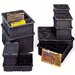 "<strong>Conductive Dividable Grid Storage Containers (3 1/2"" H x 10 7/8"" W ...</strong> by Quantum Storage"