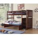 <strong>Boraam Industries Inc</strong> Twin Over Full Bunk Bed
