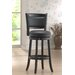 "Augusta 29"" Bar Stool in Black"