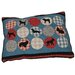 Petmate Rover Quilted Dog Pillow (Set of 4)