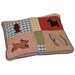 Lucky Quilted Dog Pillow
