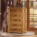 <strong>Lodge 100 5 Drawer Chest</strong> by Artisan Home Furniture