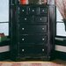 American Drew Camden Corner 5 Drawer Chest