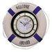 "Rhythm U.S.A Inc Oversized 25"" Marina Ultra Melody Wall Clock"