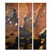 Uttermost Vibrant Skies by Grace Feyock 3 Piece Original Painting on Canvas Set