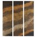 <strong>Uttermost</strong> Hot As Fire Panels by Feyock 3 Piece Original Painting Set