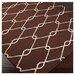 Jill Rosenwald Rugs Fallon Chocolate/Ivory Rug
