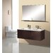 Matteo 51&quot; Double Sink Bathroom Vanity Set in Espresso