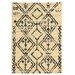 Linon Rugs Moroccan Fes Ivory/Black Rug