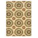 <strong>Le Soleil Ivory/Terracotta  Outdoor Rug</strong> by Linon Rugs