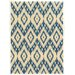 <strong>Trio Blue/Ivory Rug</strong> by Linon Rugs