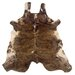 <strong>Natural Cowhide Full Skin Medium Brindle Rug</strong> by Linon Rugs