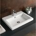 "<strong>Fitted 24"" Ceramic Vanity Top</strong> by Iotti by Nameeks"