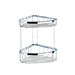 <strong>Basket Double Large Corner Shower Basket in Chrome</strong> by Geesa by Nameeks