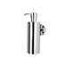 Circles Wall Mounted Soap Dispenser in Chrome