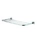 "Luna 25.2"" Bath Towel Shelf in Chrome"