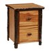 <strong>Fireside Lodge</strong> Hickory 2-Drawer File Cabinet