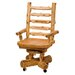 <strong>Fireside Lodge</strong> Traditional Cedar Log High-Back Wood Executive Chair