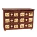 <strong>Fireside Lodge</strong> Adirondack 6 Drawer Dresser
