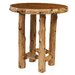 <strong>Traditional Cedar Log Dining Table</strong> by Fireside Lodge