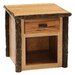 <strong>Fireside Lodge</strong> Hickory One Drawer End Table