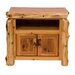 "<strong>Traditional Cedar Log 34"" TV Stand</strong> by Fireside Lodge"
