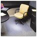 PlushMat Medium Plush Pile Carpet Beveled Edge Chair Mat