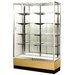 "Streamline 36"" x 15"" Trophy Case with Panel Back"