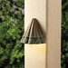 <strong>Ainsley Square Scalloped Deck Light</strong> by Kichler