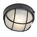 Circular Outdoor Wall Lantern