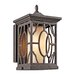 Mackenzie  Outdoor Wall Lantern in Architectural Bronze