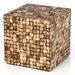 Jeffan Cocoa Cube Ottoman