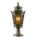"Corbett Lighting Avignon 3 Light 13"" Outdoor Post Lantern"