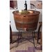 2 Day Designs, Inc Bistro Barrel Wood Beverage Tub