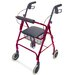 "Ultra Lightweight Aluminum Rollator with 6"" Wheels"