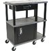 Tuffy 70 Series Presentation Station with Drawer Cabinet