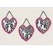 Sweet Jojo Designs 3 Piece Isabella Wall Hanging Set