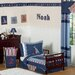 <strong>Nautical Nights Toddler Bedding Collection</strong> by Sweet Jojo Designs