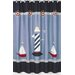 <strong>Come Sail Away Shower Curtain</strong> by Sweet Jojo Designs