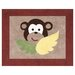 <strong>Monkey Collection Floor Rug</strong> by Sweet Jojo Designs