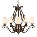 <strong>Pemberly Court 5 Light Chandelier</strong> by Golden Lighting