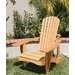 <strong>Western Red Cedar Standard Adirondack Chair</strong> by Cedar Delite