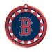 <strong>Team Sports America</strong> MLB Blown Glass Logo Disc Ornament