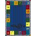 <strong>Joy Carpets</strong> Educational Note Worthy Kids Rug