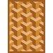 Joy Carpets Whimsy Family Legacies Rooftop Wheat Rug