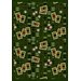 <strong>Joy Carpets</strong> Gaming and Entertainment Feeling Lucky Emerald Novelty Rug
