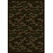 Joy Carpets Whimsy Funky Camo Camouflage Dark Army Rug